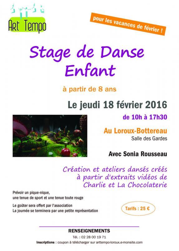 201602 stage de danse enfant